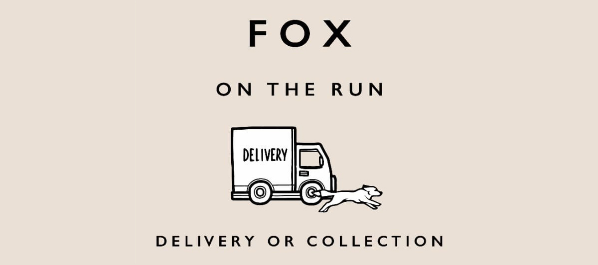 Fox on the run - takeaways available